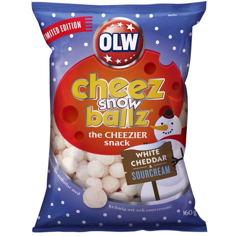 Cheez Snowballz - 58% rabatt