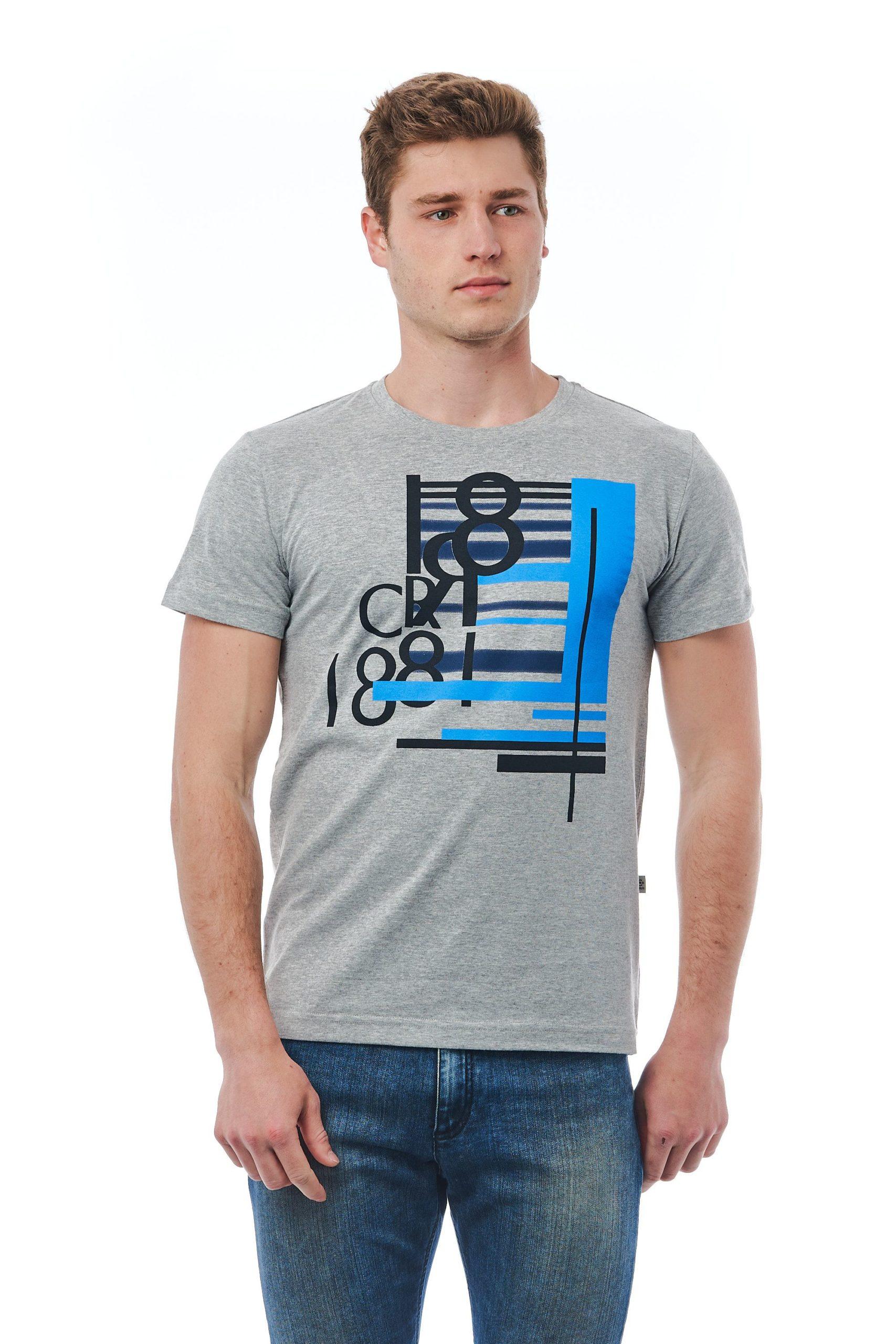 Cerruti 1881 Men's Grigio T-Shirt Grey CE1410118 - M
