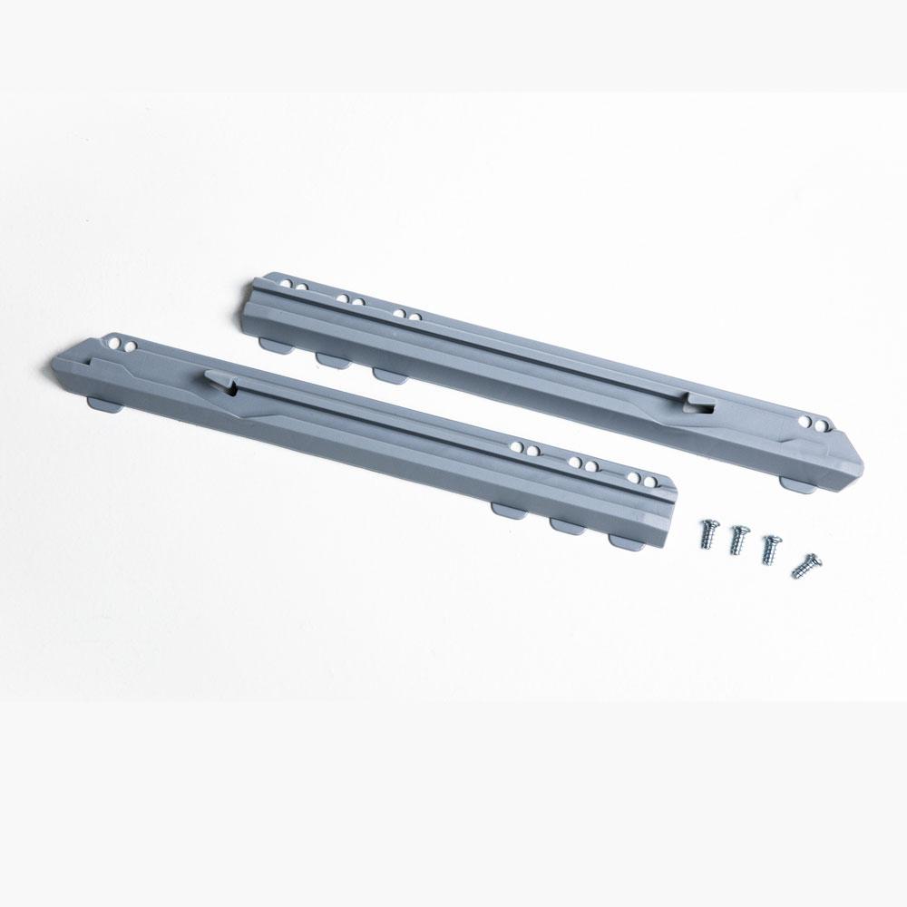 Pelly System Skinnesett for 16mm Sølv