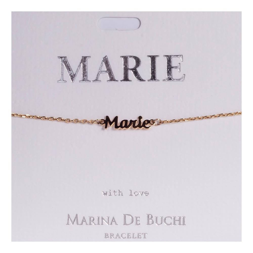 Namnarmband Guld - Marie