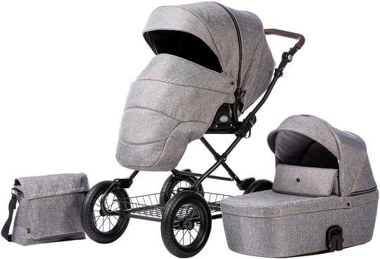 Nordbaby Nord Comfort Plus Duovogn, Dark Grey Melange