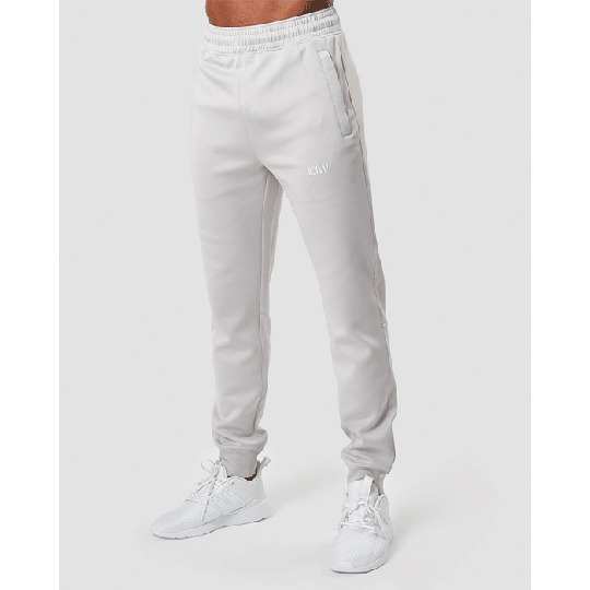 Workout Track Pants, Light Grey