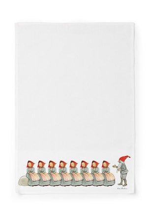 Elsa Beskow Kjøkkenhåndduk Familien Jul