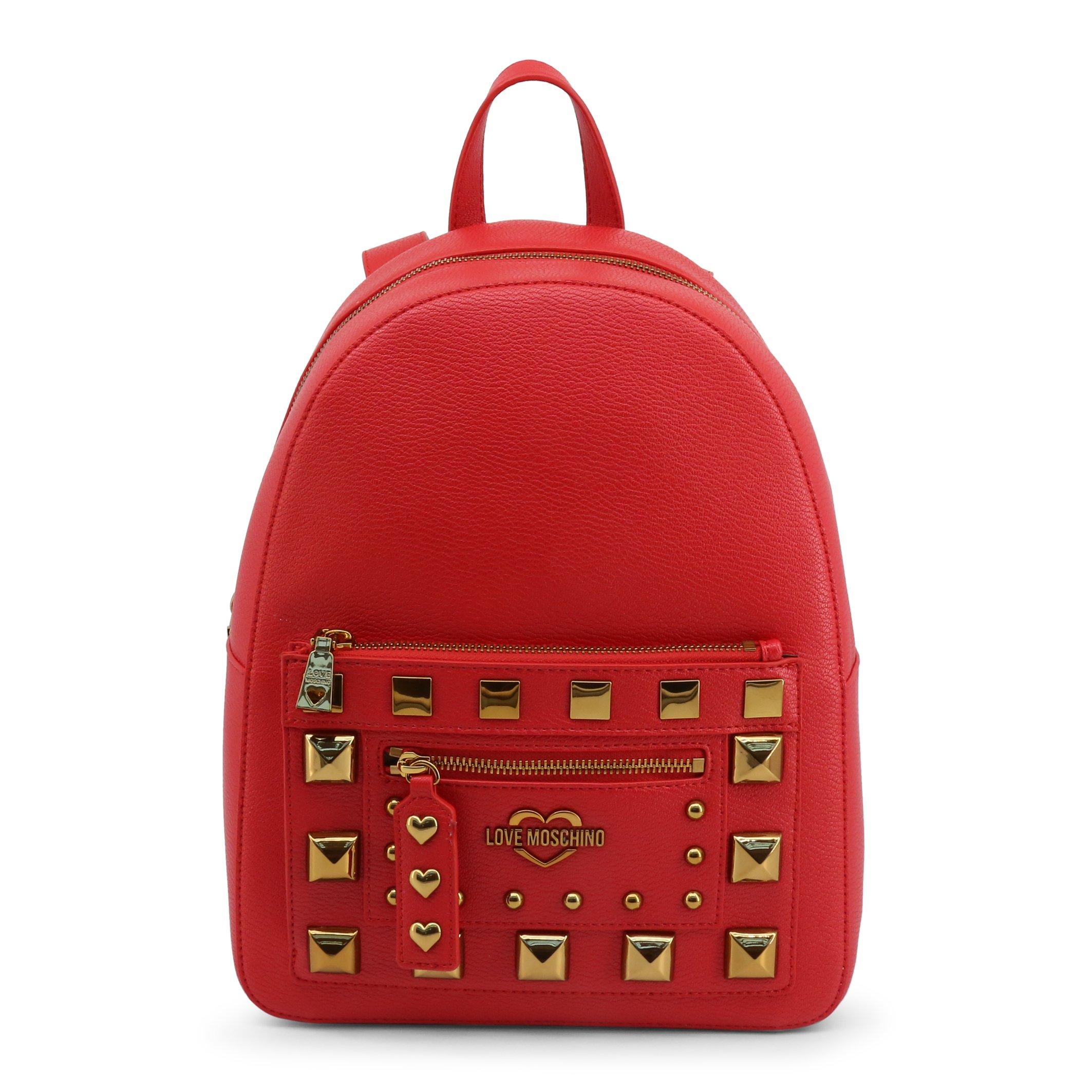 Love Moschino Women's Backpack Black JC4282PP0BKO - red NOSIZE