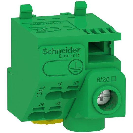 Schneider Electric Resi9 CX LGYT1E05 Maadoituslohko 440 V 5 liitäntää