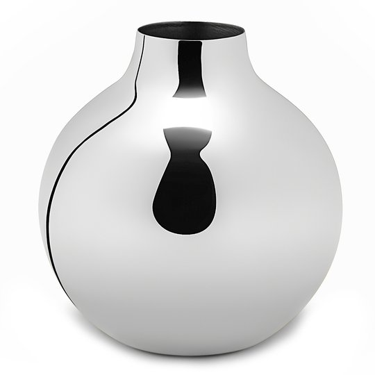 Skultuna - Boule Vas mini Silver