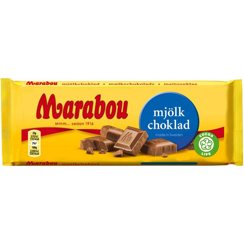 Marabou Mjölkchoklad - 33% rabatt
