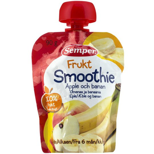 "Lastenruoka Smoothie ""Omenaa & Banaania"" 90g - 6% alennus"