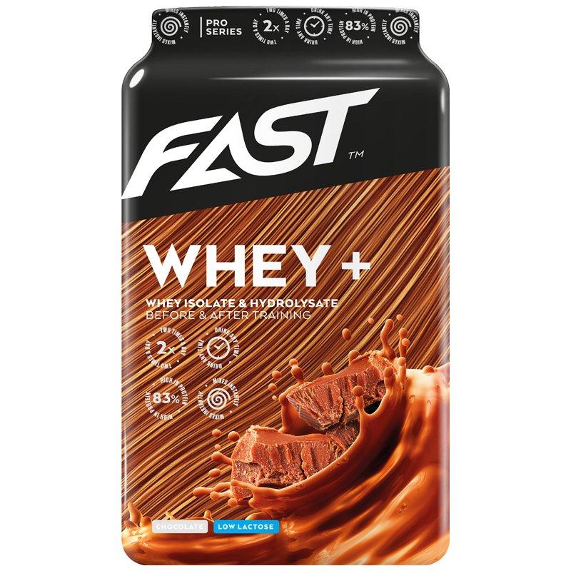 """Proteiinijauhe """"Whey+"""" Suklaa 600g - 84% alennus"""