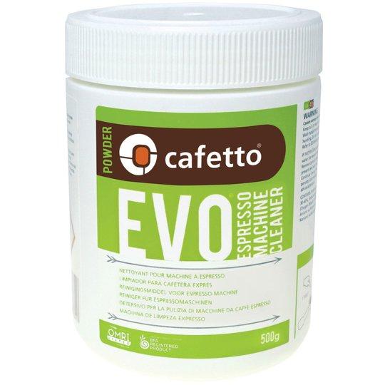 Cafetto EVO Rengöringspulver 500 g.