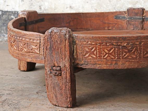 Antique Ghati Coffee Table Medium