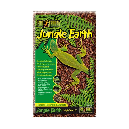 Exo Terra Jungle Earth Bottensubstrat 26,4 Liter