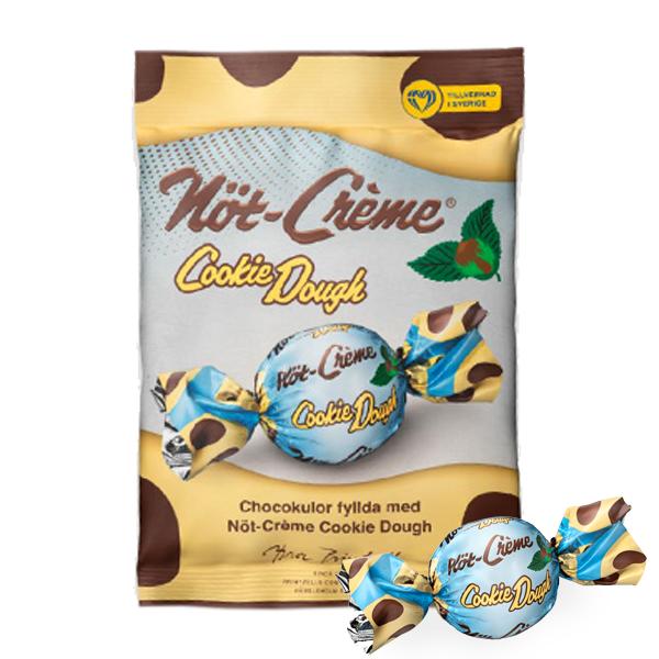 Nöt-Creme Cookie Dough Pralin i Påse 67g