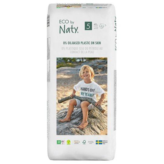 Naty Miljövänliga Blöjor - Storlek 5 (11-25 kg), 40 st