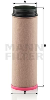 Toisioilmasuodatin MANN-FILTER CF 1640