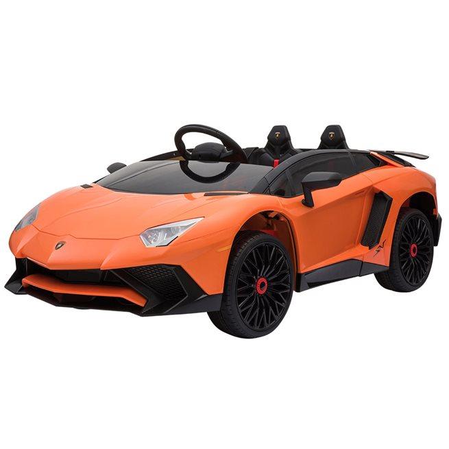 Rollplay Elbil Lamborghini Aventador Orange, Trampbil