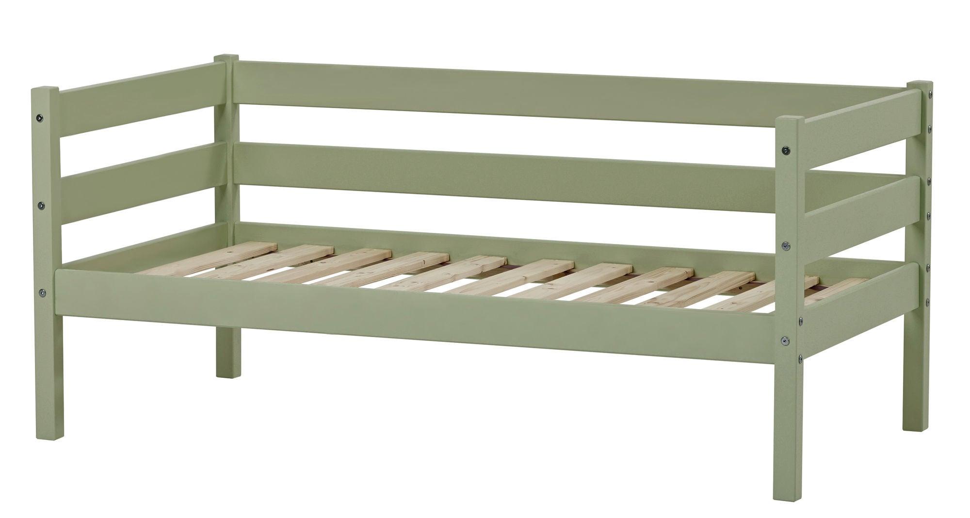 Hoppekids Juniorisänky IDA-MARIE 70x160 cm, Pale Green