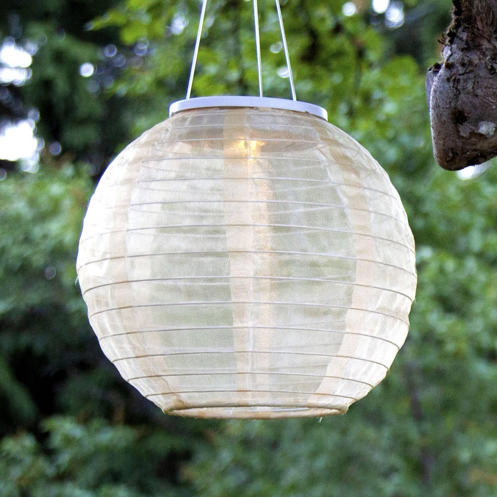 Aurinkokäyttöinen Festival-LED-valaisin, Ø 25 cm