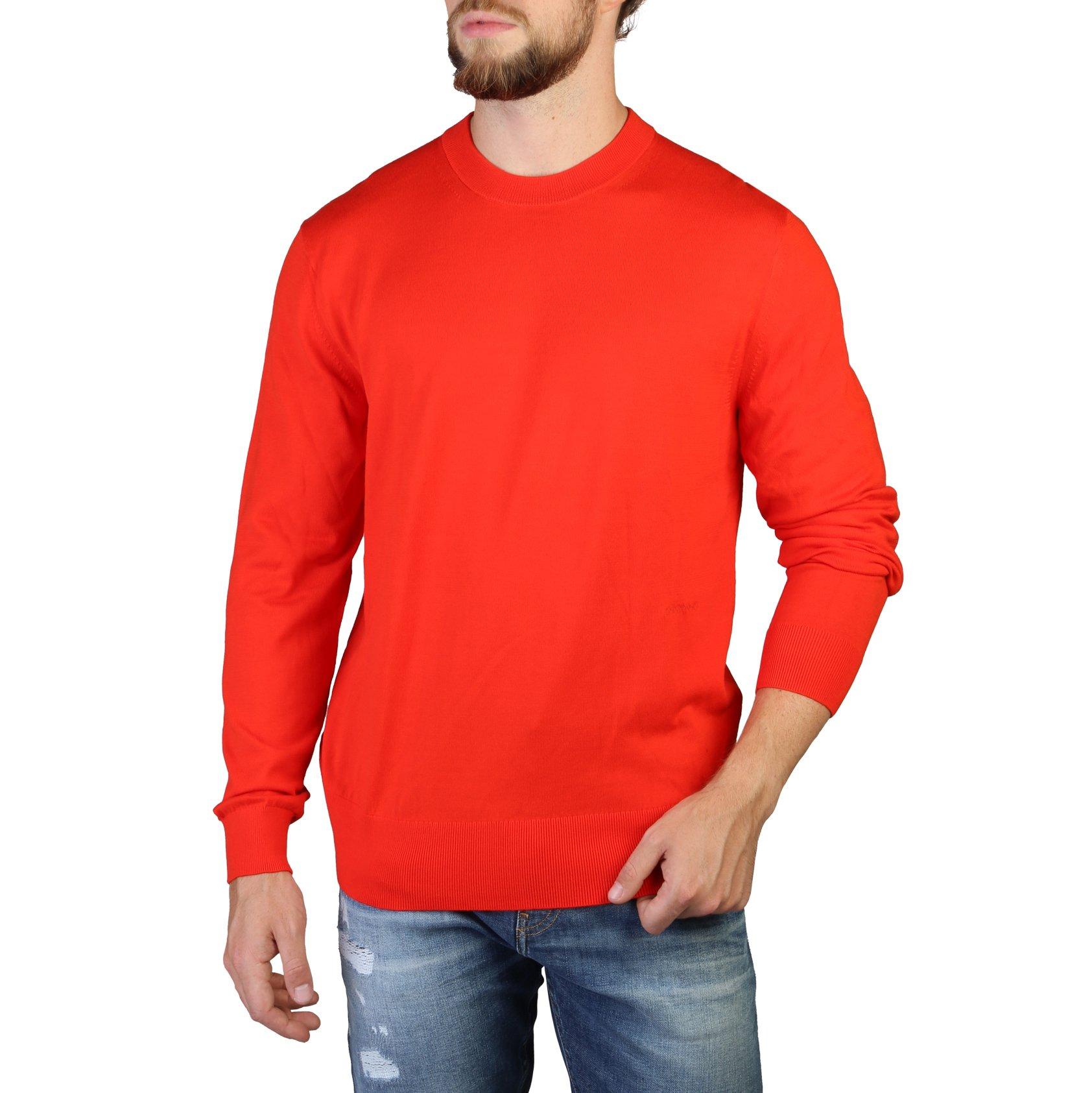 Calvin Klein Men's Sweaters Yellow 349373 - red S