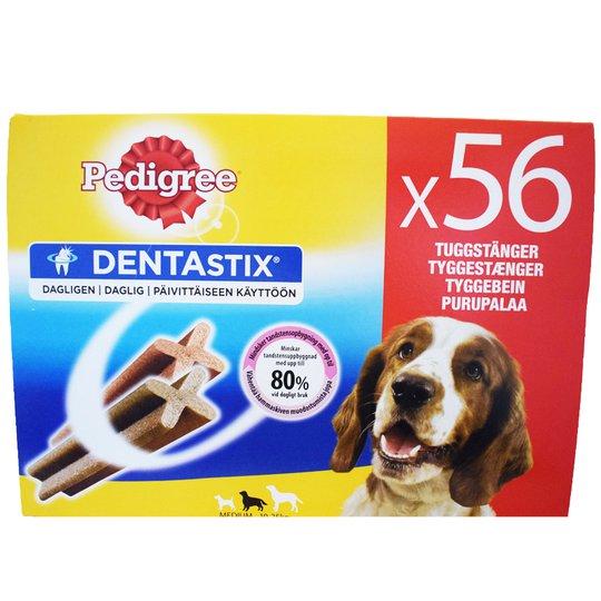 """""""Dentastix Medium"""" Purupalaa 56kpl - 26% alennus"""
