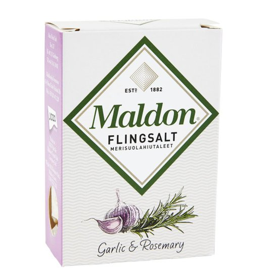 """Flingsalt """"Garlic & Rosemary"""" 100g - 42% rabatt"""