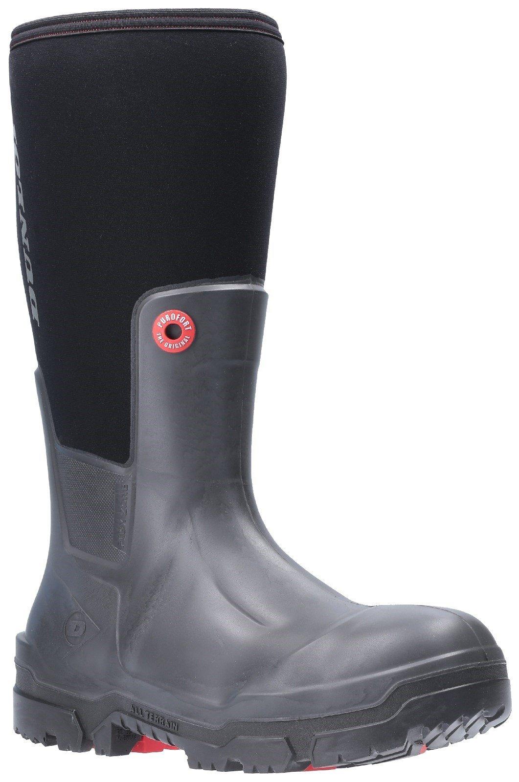 Dunlop Unisex Snugboot Pioneer Slip On Boot Black 30075 - Black 5