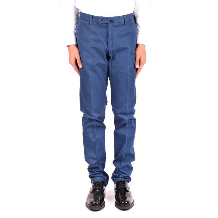 Incotex Men's Trouser Blue 163595 - blue 48