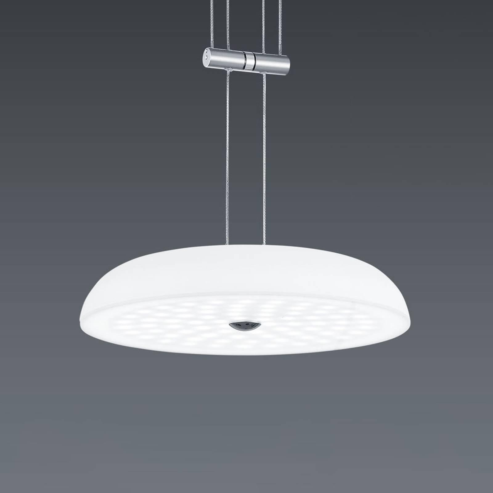 BANKAMP Vanity -riippuvalo, 1-lamp. nikkeli Ø25 cm