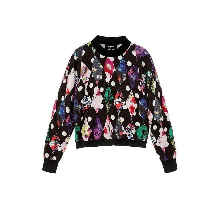 Desigual Women's Sweater Black 319562 - black XS