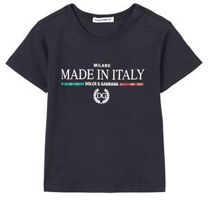 Dolce & Gabbana Logo T-Shirt Svart 12-18 mån