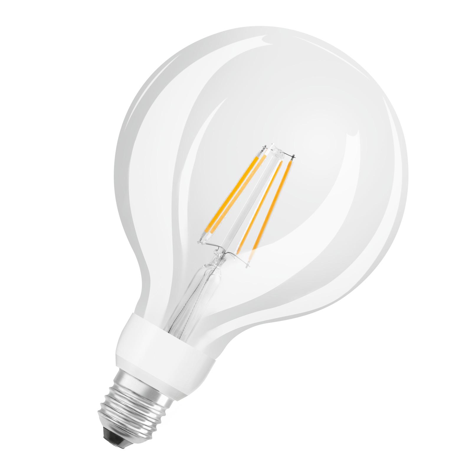 OSRAM-LED-globe-lamppu E27 7W G125 827 Glow dim