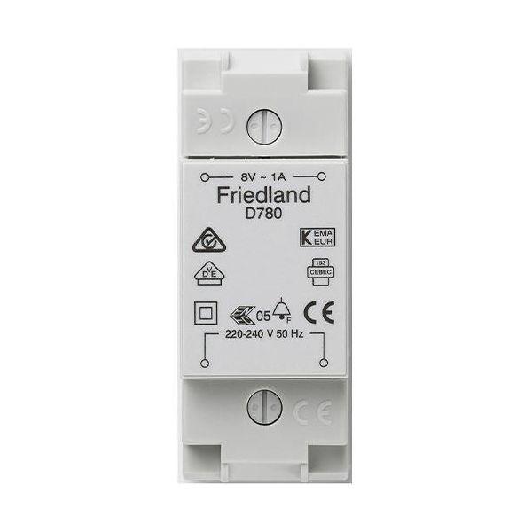 Honeywell Home D780 Ringledningstransformator for montering på DIN-skinne