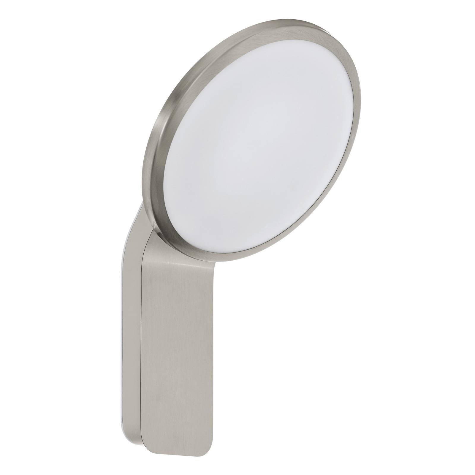 Utendørs LED-vegglampe Cicerone av rustfritt stål
