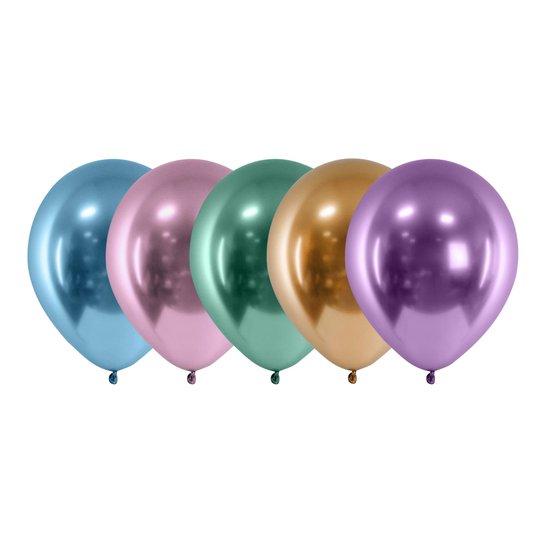 Ballongkombo Krom - 10-pack