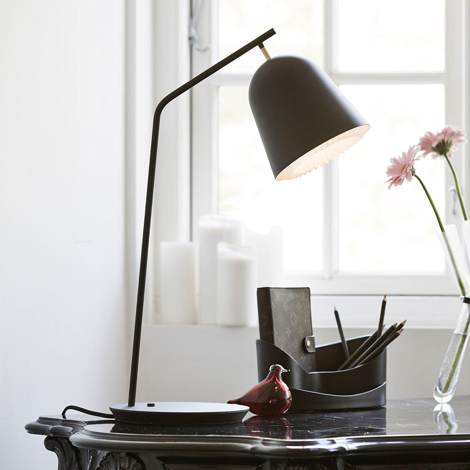 LE KLINT Caché - designer-bordlampe i svart