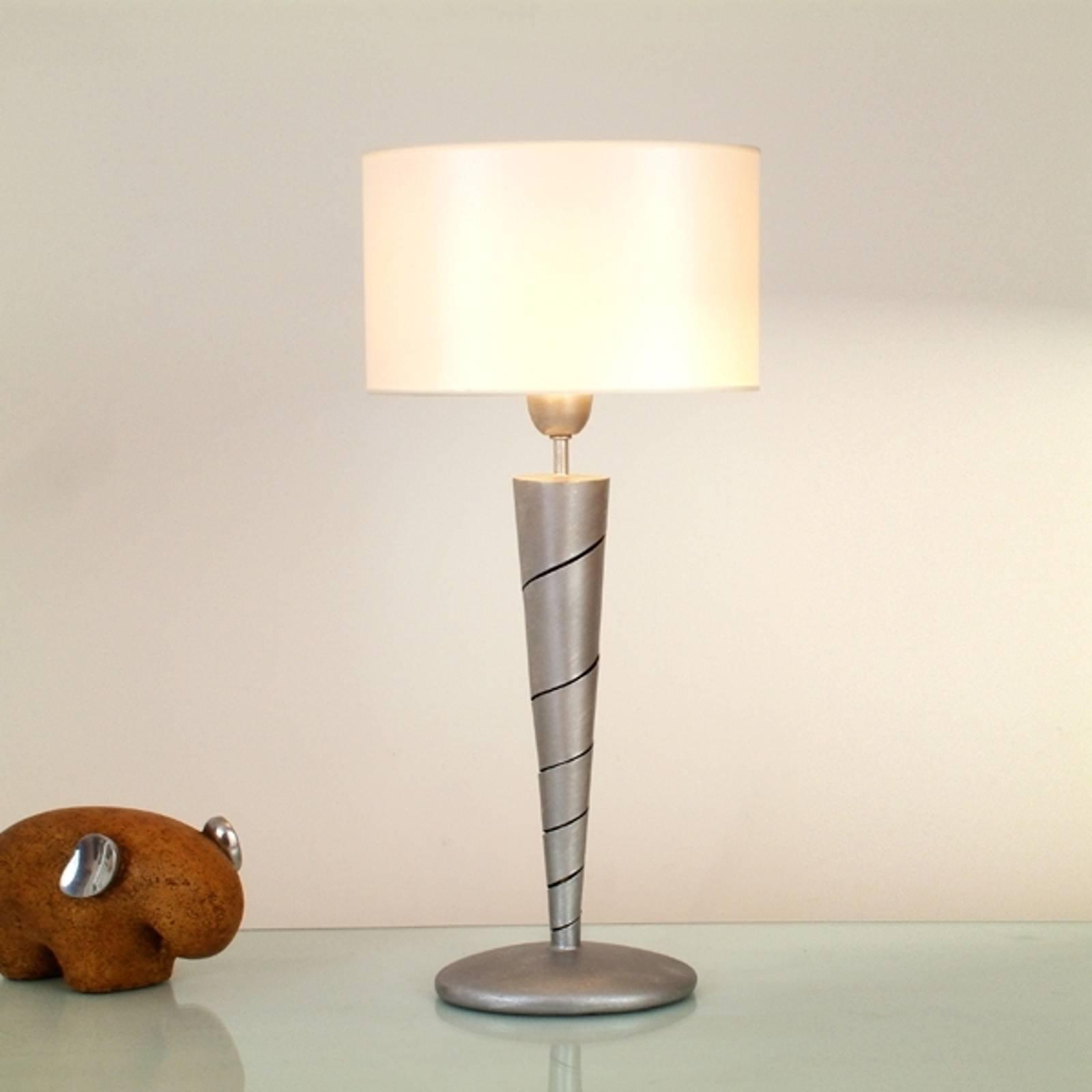 Eksklusiv INNOVAZIONE bordlampe av jern sølv