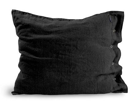 Lovely linen putetrekk – Dark grey, 50x60