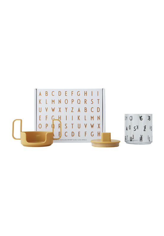 Design Letters - Grow With Your Cup Tritan Prepacked Gift Box - Mustard (20103008MUSTARD)
