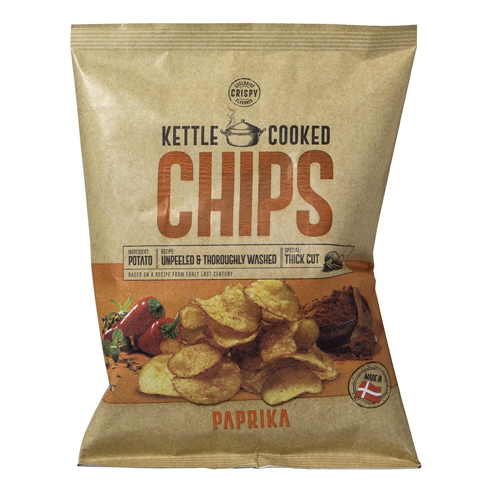 Kettle Cooked Paprika Chips - 150 gram