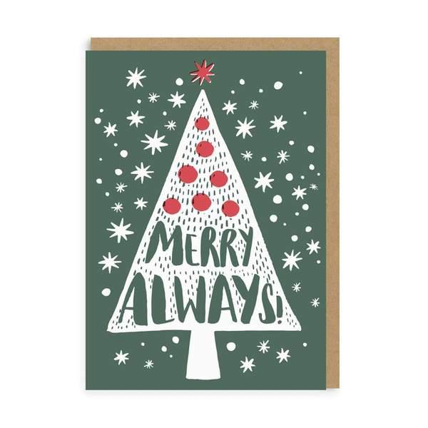 Merry Always Christmas Card