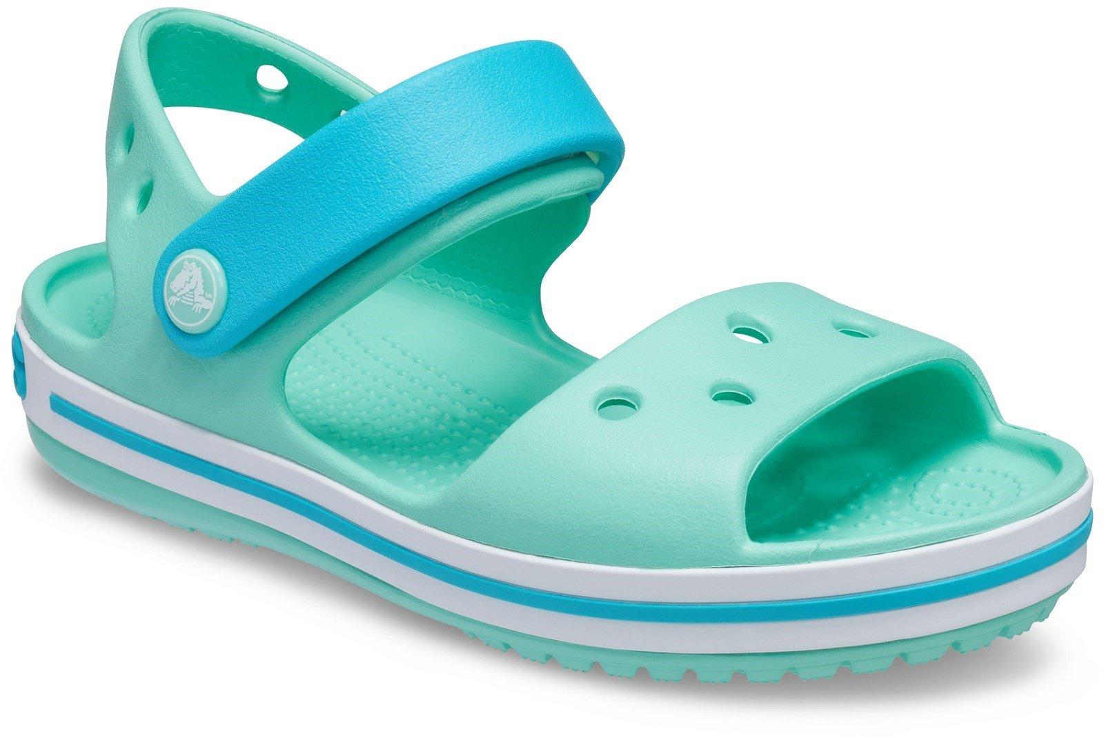 Crocs Kid's Crocband Sandal Various Colours 21077 - Pistachio 4