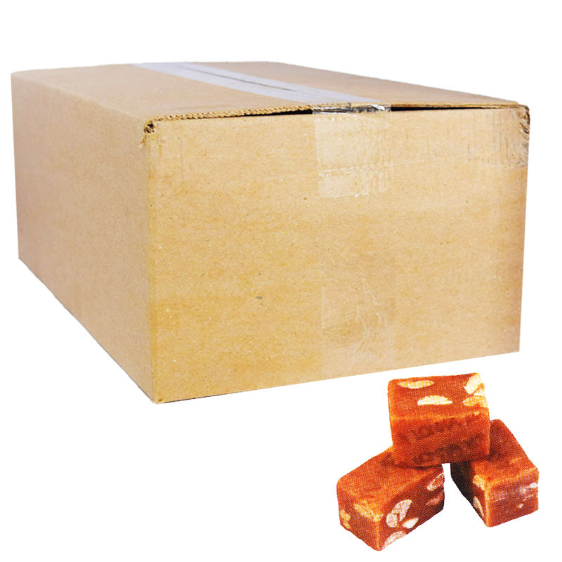 "Laatikollinen ""Peanut Fudge"" -toffeeta 3,25 kg - 50% alennus"
