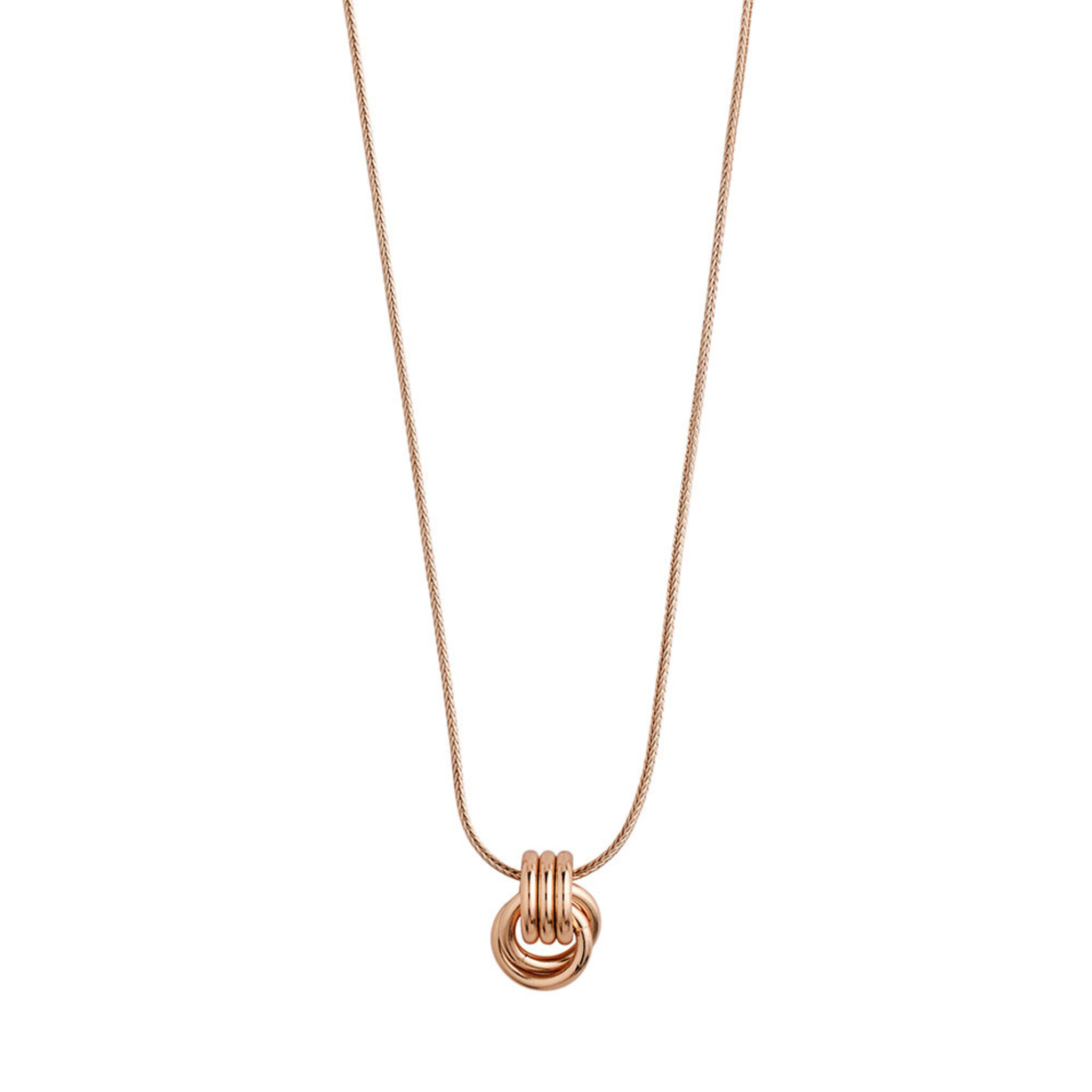 Necklace : Doris : Rose Gold Plated, ONE SIZE