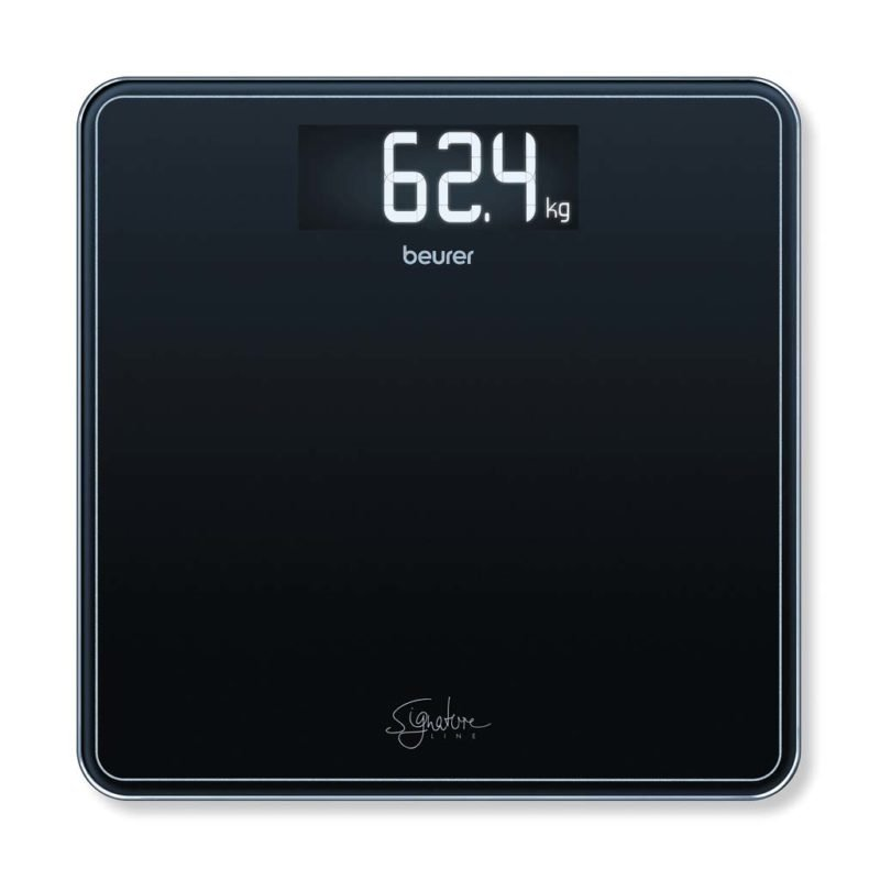 Beurer - GS 400 Bathroom Scale Glass ( Black ) - 5 Year warranty