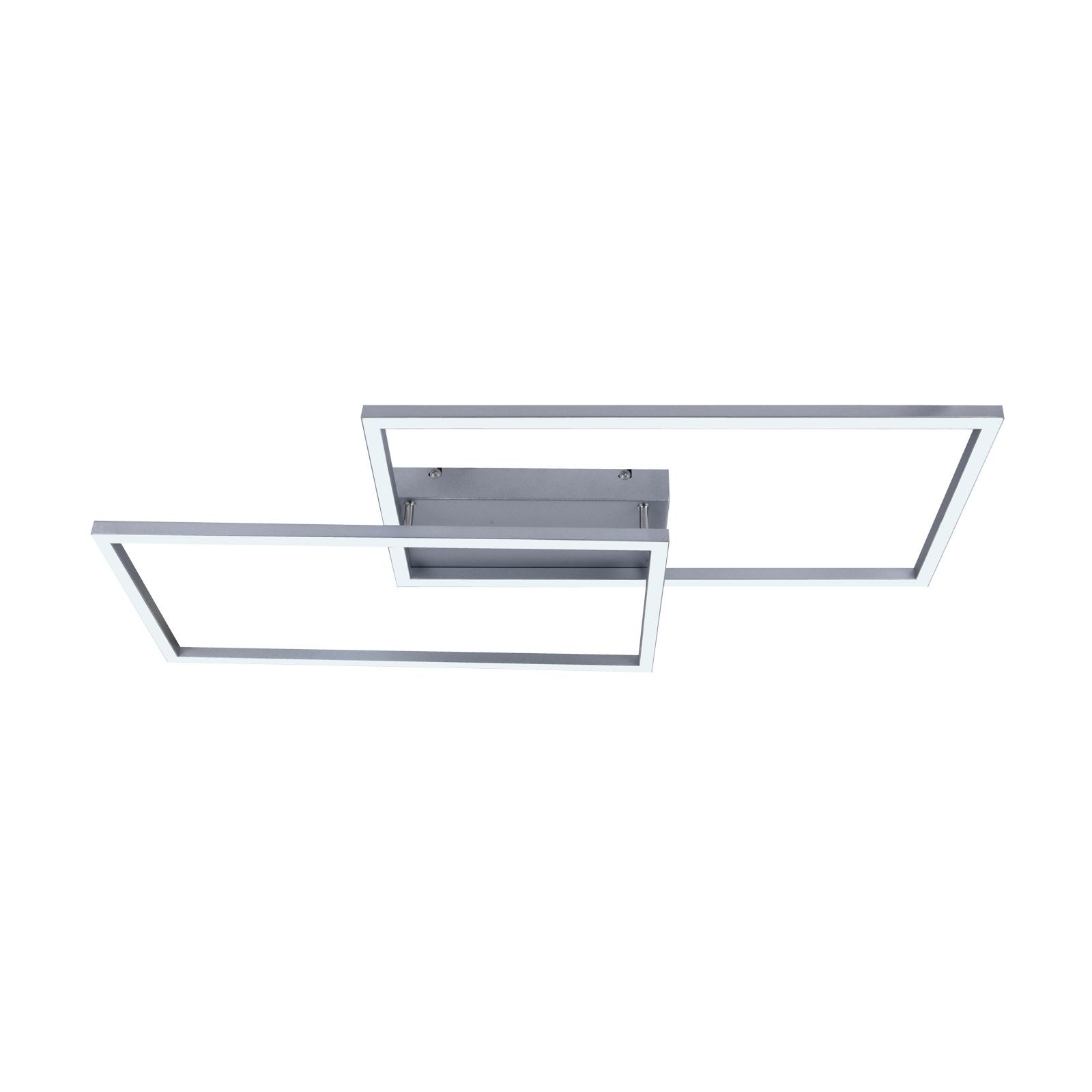 Lucande Muir -LED-kattovalaisin, suorakaide, CCT