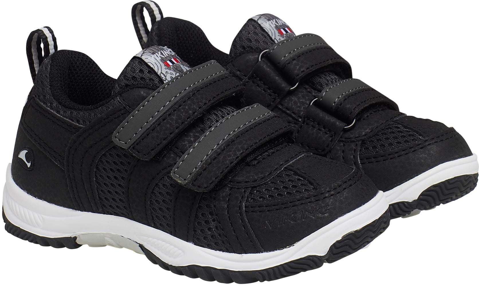 Viking Cascade 2.0 Sneaker, Black/Dark Grey, 24