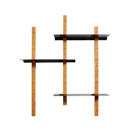 Shelf system Oaks M - Natural