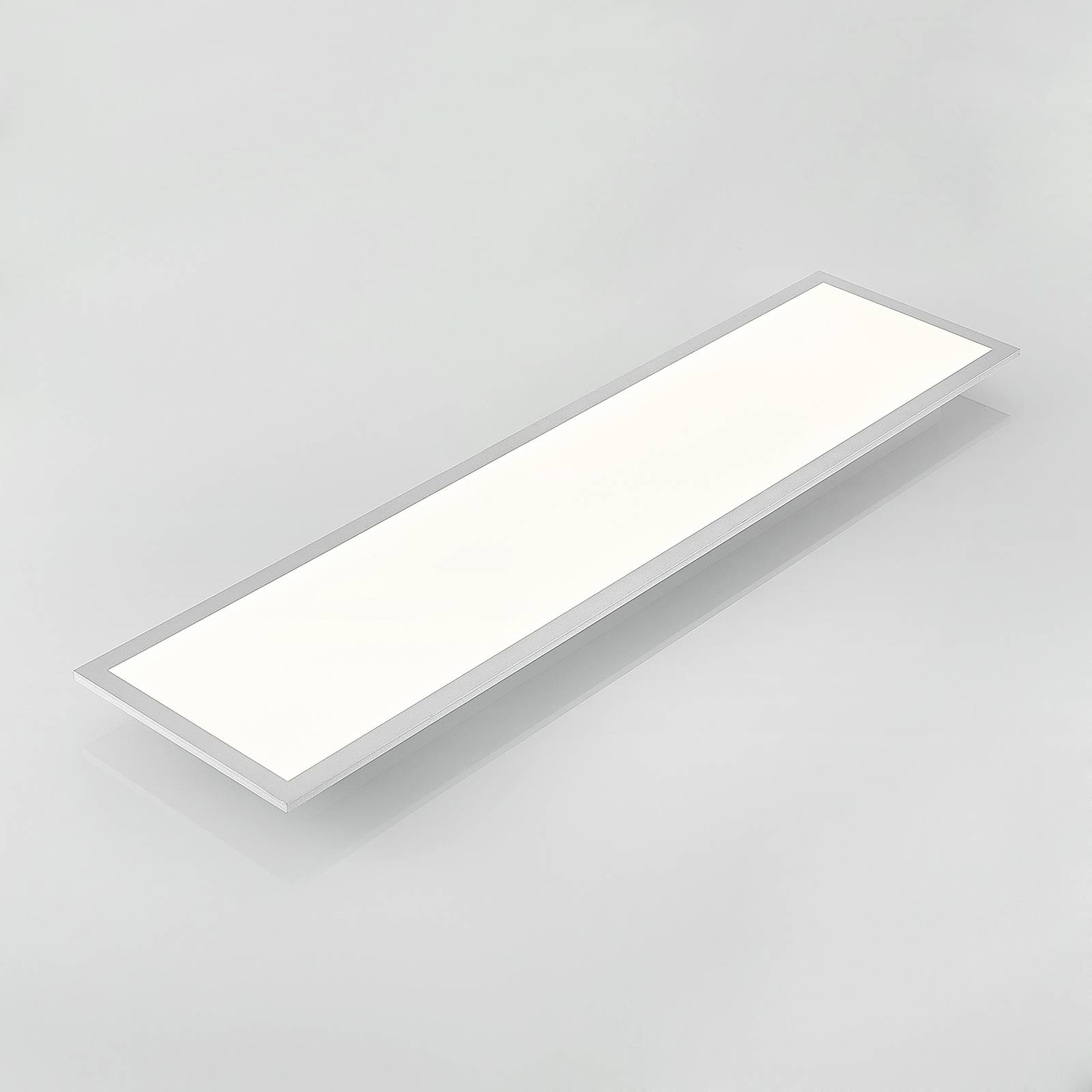 Lindby Zemmi -LED-kattovalaisin, 120 x 30 cm