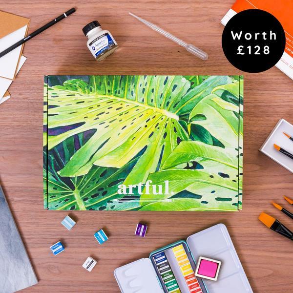 The Artful Watercolour Starter Box