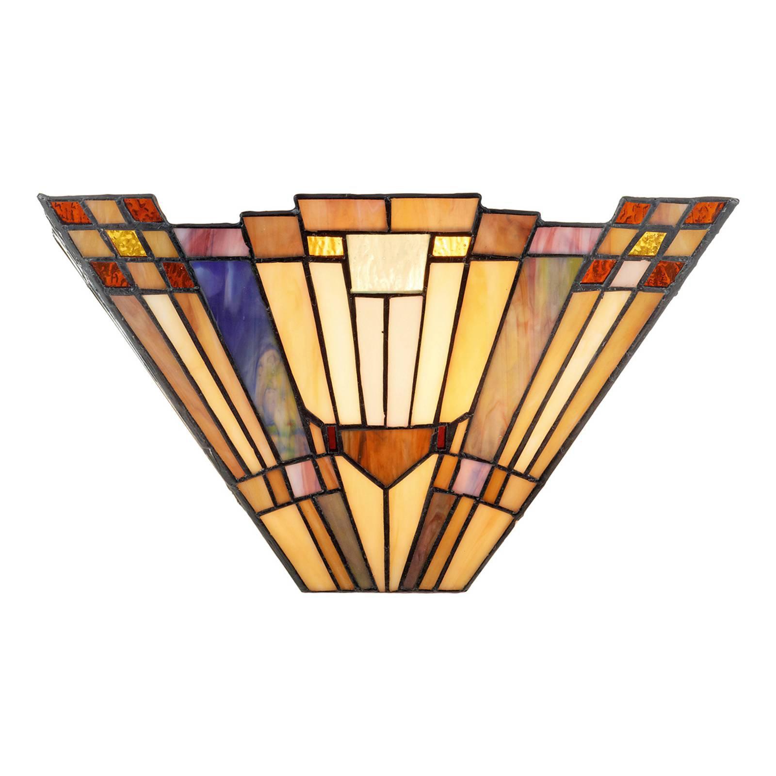 Vegglampe Esmea utført i Tiffany-stil